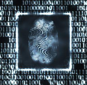 Fingerabdruck in binärer Umgebung