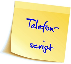 Telefonscript Telefonskript