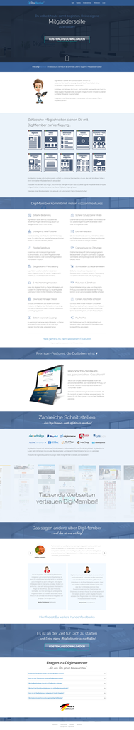 Onepager Layout